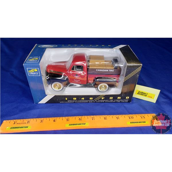 """Liberty Classic : Coin Bank (1948 Ford) """"Canadian Tire Corporation"""" """"You're Safe with Superlastics!"""""""