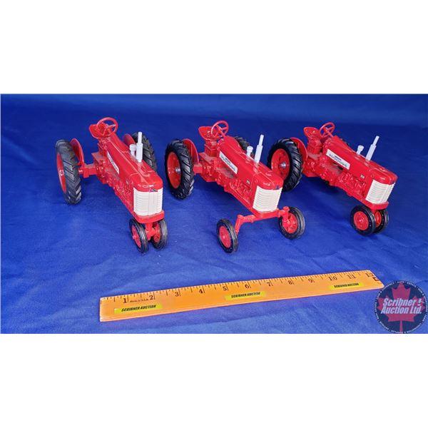 Tractor Trio: IH Farmall 350 (Scale: 1/16)