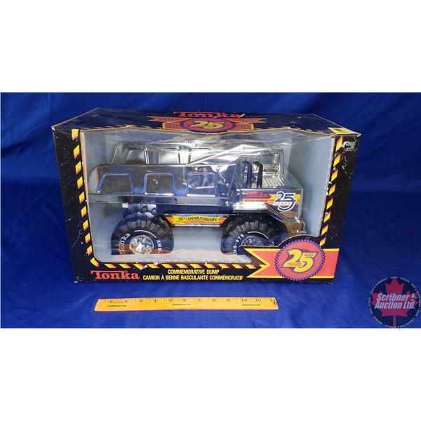 "Tonka ""Mighty Tonka Dump"" ""Silver Edition 25 Years 1965-1990"" (Box Measures: 19-1/2""W x 11-1/2""H x 1"