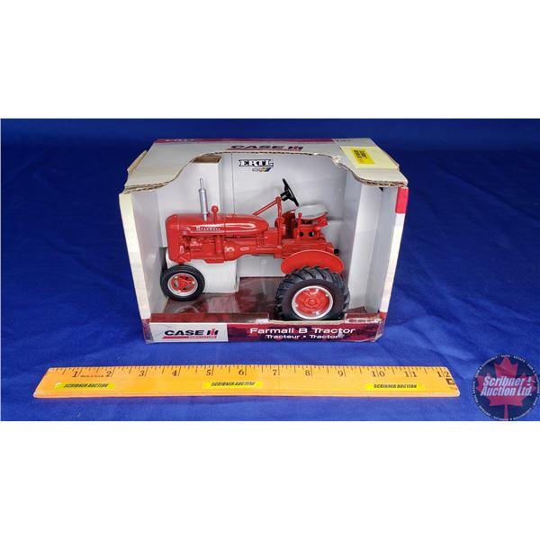 CASE IH McCormick Farmall B Tractor (Scale: 1/16)