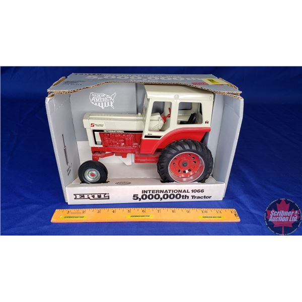 International 1066 (5,000,000th Tractor Special Edition) August 1990 (Scale: 1/16)