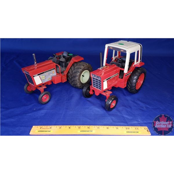 """IH 1086 (2): Custom """"Tractor Pull"""" Tractor & Stock (Scale: 1/16) (See Pics)"""