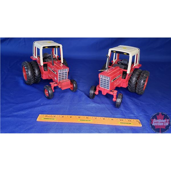 """IH 1086 (2) : Both w/Duals (1 is """" Red Power"""") (See Pics) (Scale: 1/16)"""