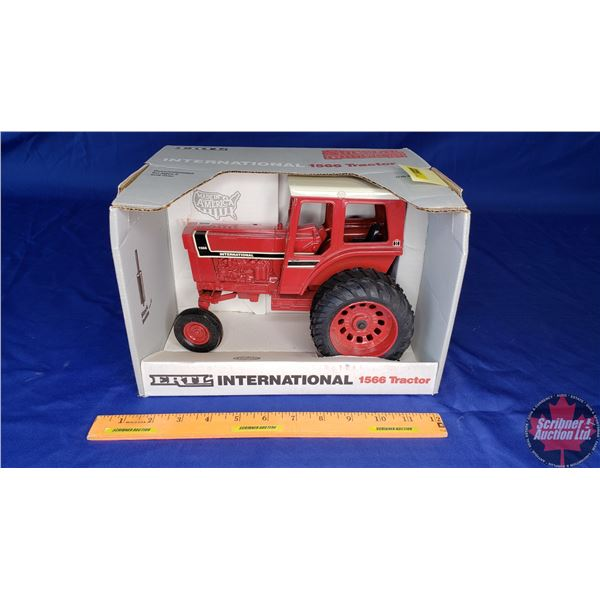 """International 1566 Tractor """"Special Edition July 1991"""" (Scale: 1/16)"""