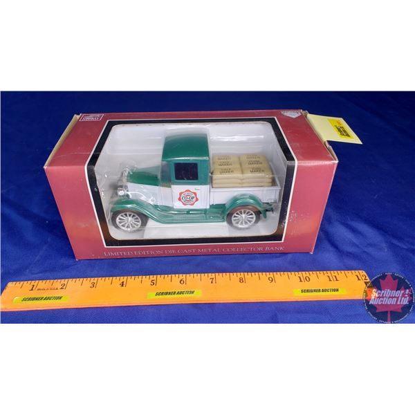 """Liberty Classics : Coin Bank """"Quality Co-Op Products"""" Limited Edition 1928 Chevrolet"""