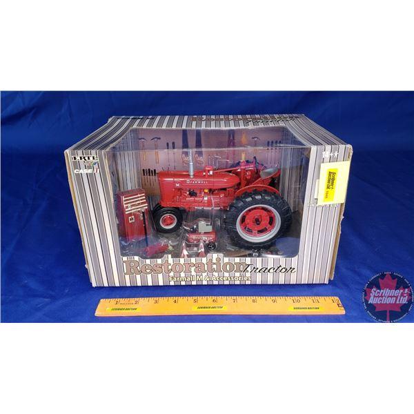 """CASE IH McCormick Farmall M + Accessories """"Restoration Tractor"""""""