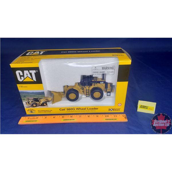 CAT 980G Wheel Loader (Scale: 1/50)