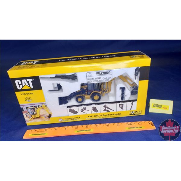 CAT 420D IT Backhoe Loader (Scale: 1/50)