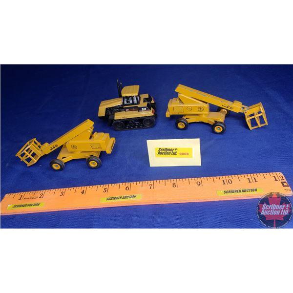 Construction Toy Trio: CAT85D & (2) JLG Man Lifts (See Pics!)