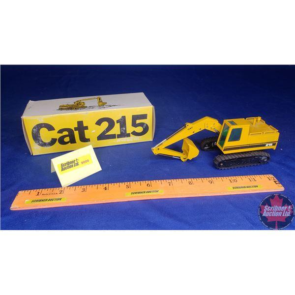 CAT 215 Excavator (Scale: 1/50)