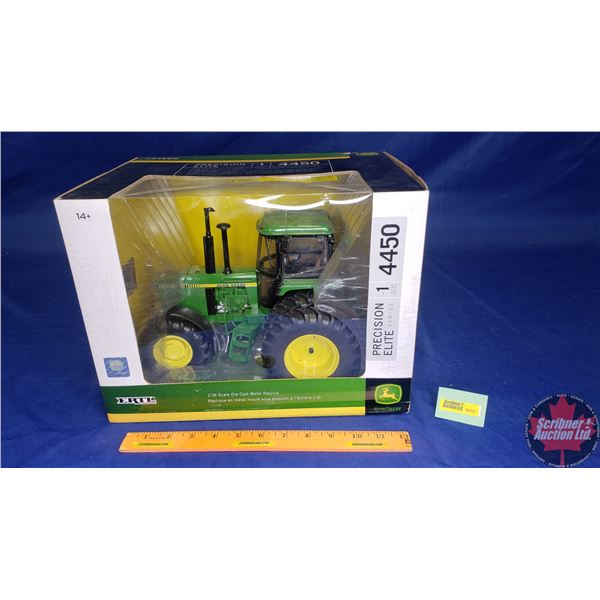 John Deere 4450 Precision Elite Series No. 1 in the Series (Scale: 1/16) (Note: Lights, Engine, Horn