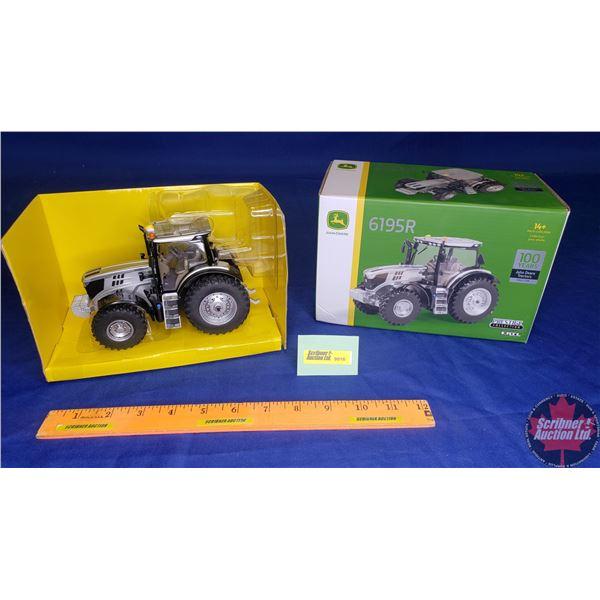 "John Deere 6195R : Prestige Collection ""100 Years John Deere Tractors Since 1918"" (Scale: 1/32)"