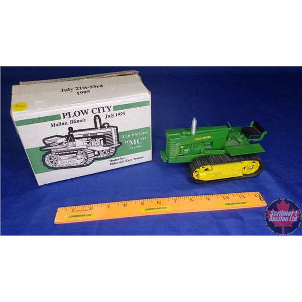 "John Deere ""MC"" Crawler : Plow City Toy Show July 1995 (Scale: 1/16)"