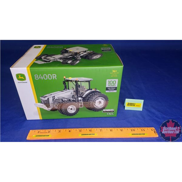 "John Deere 8400R : Prestige Collection ""100 Years John Deere Tractors Since 1918"" (Scale: 1/32)"