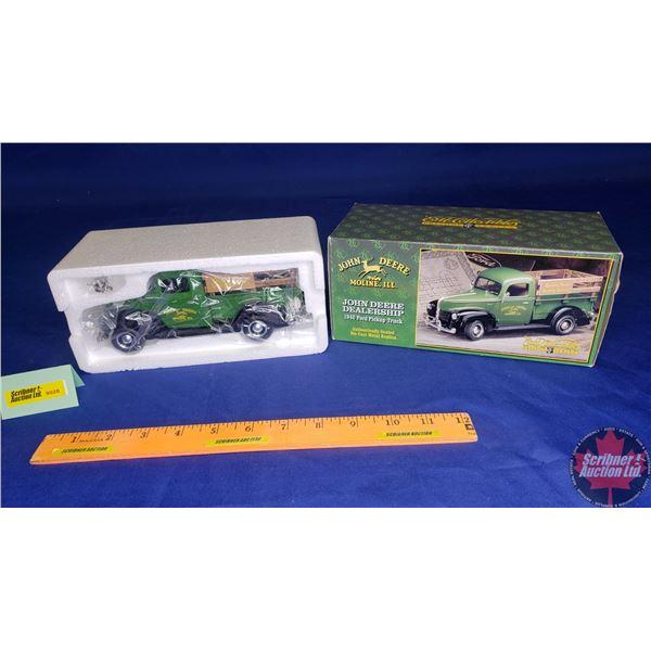 John Deere Dealership 1940 Ford Pickup Truck - Prestige Series (Scale: 1/25)