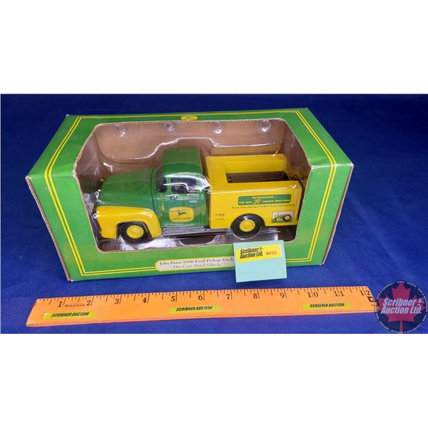 John Deere Coin Bank : 1956 Ford Pickup Truck (Scale: 1/25)