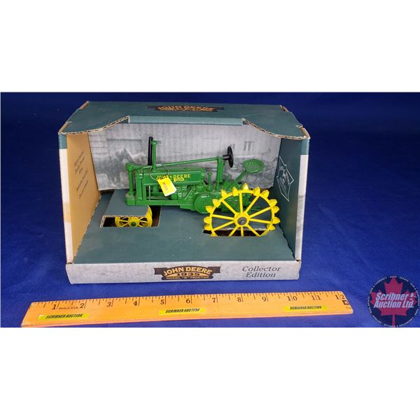 "John Deere 1935 Model ""B"" Tractor (Steel Wheel) Collector Edition (Scale: 1/16)"