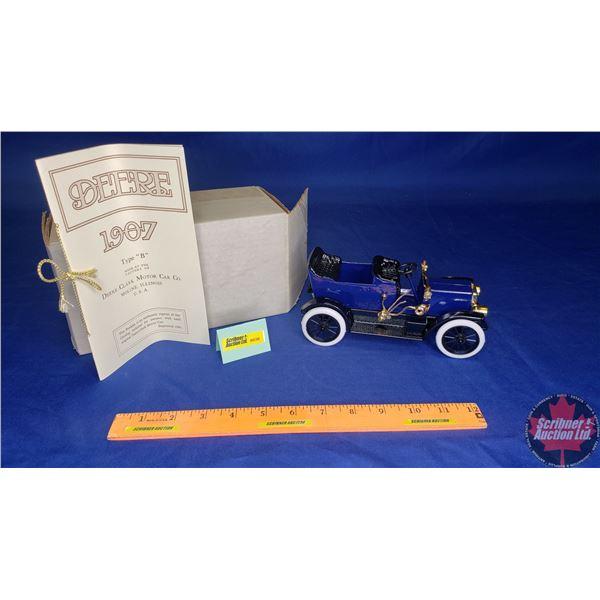"John Deere Type ""B"" Motor Car 1907 (Blue) w/Booklet"