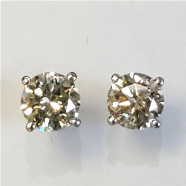 14K DIAMOND(0.48CT) EARRINGS