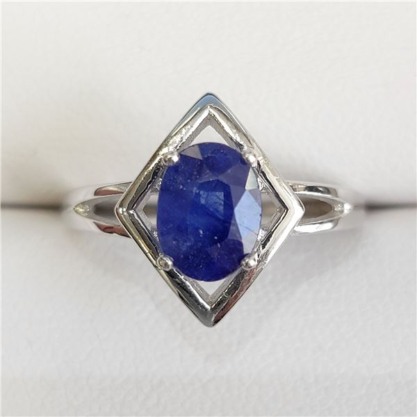 SILVER SAPPHIRE(1.6CT) RING