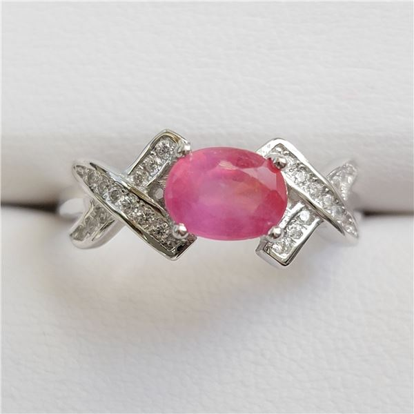 SILVER RUBY(1.5CT) RING