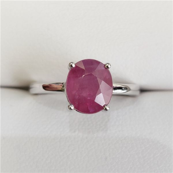 SILVER RUBY(2.6CT) RING