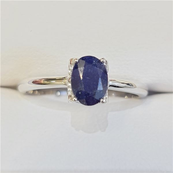 SILVER SAPPHIRE(1CT) RING