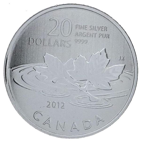 .9999 Fine Silver $20 Farewell To The Penny 2012
