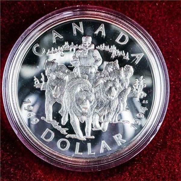 1994 RCM Sterling Silver Proof $1 Coin