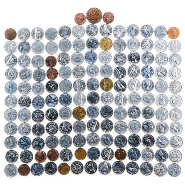 Estate Lot/Bag Canada Nickel Coins