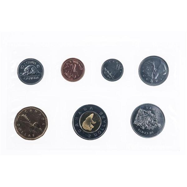 RCM 1952 - 2002 UNC Mint coin Set