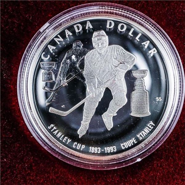 1993 RCM Sterling Silver Proof $1Coin