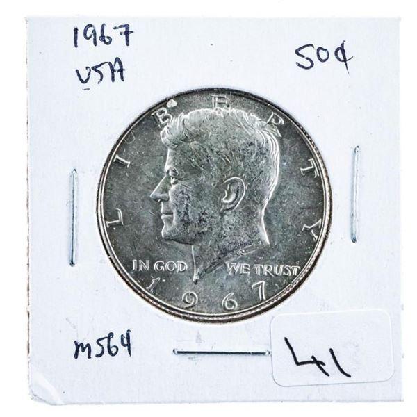 1967 USA JFK Half Dollar