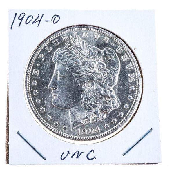 USA 1904 'O' Silver Morgan Dollar UNC