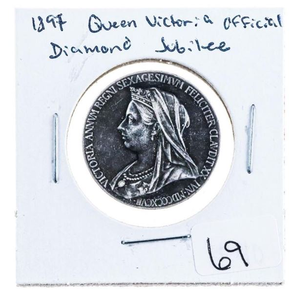 1837 Queen Victoria - Official Diamond Jubilee  Medal