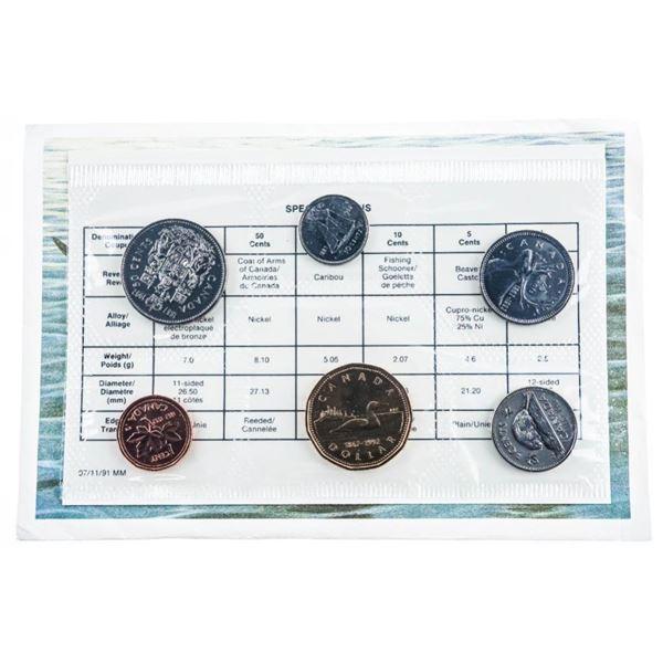 1992 Canada Coin Set.