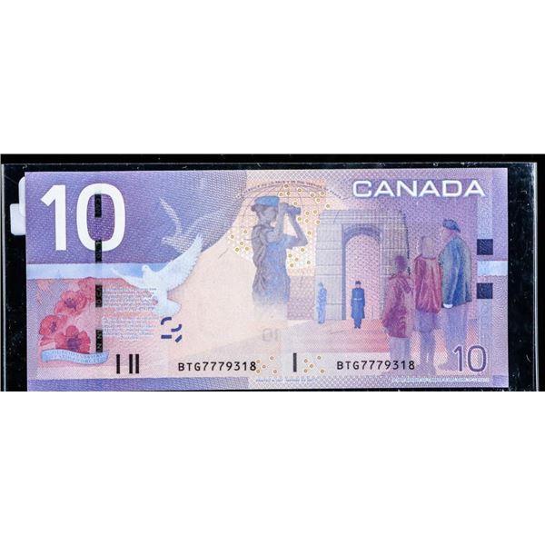Olmstead Original Bank of Canada 2007 $10 BTG SNR  (3K)