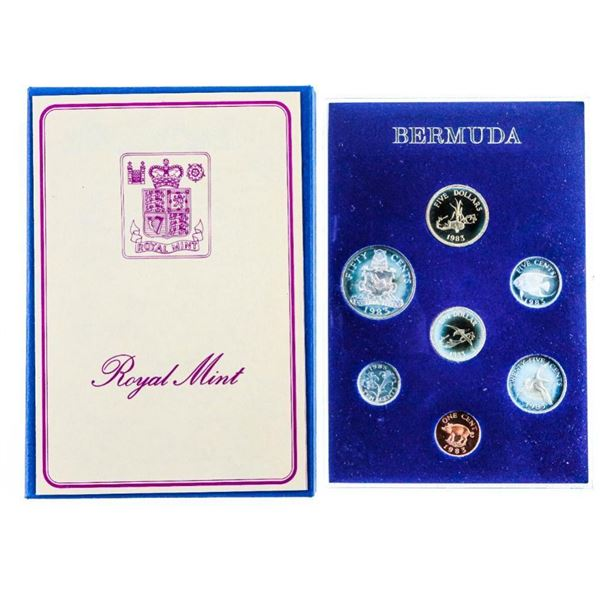 Proof Coinage of Bermuda 1983