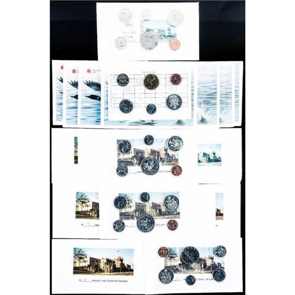 Group of 18 Canada RCM UNC Coin Sets