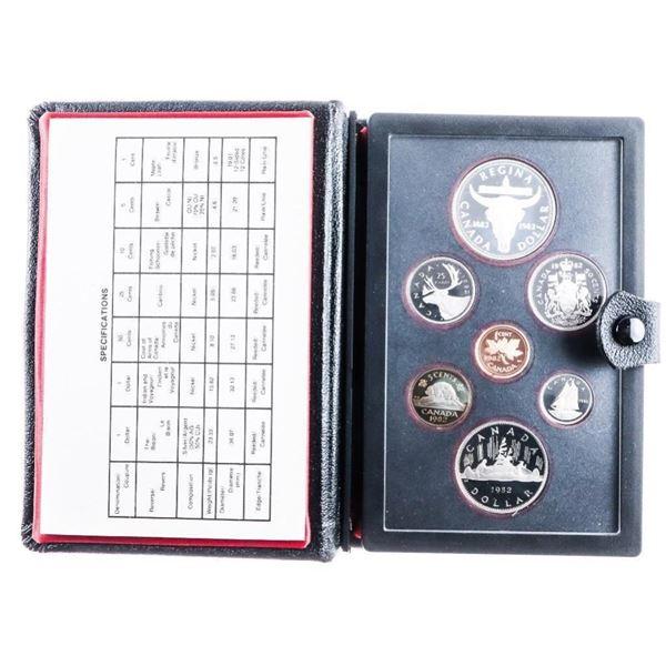 RCM 1982 Proof Coin Set