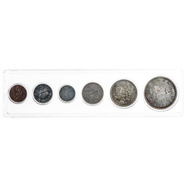 1965 Canada Year Set 1.1oz Fine Silver