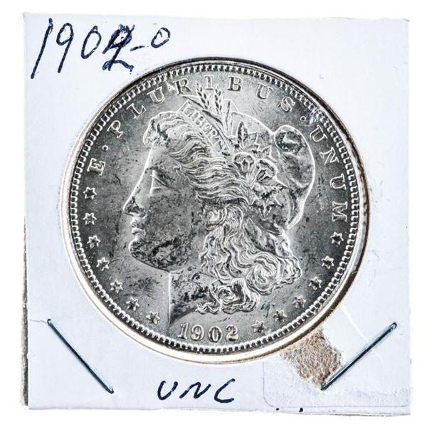 """1902 """"O"""" USA Silver Morgan Dollar UNC"""
