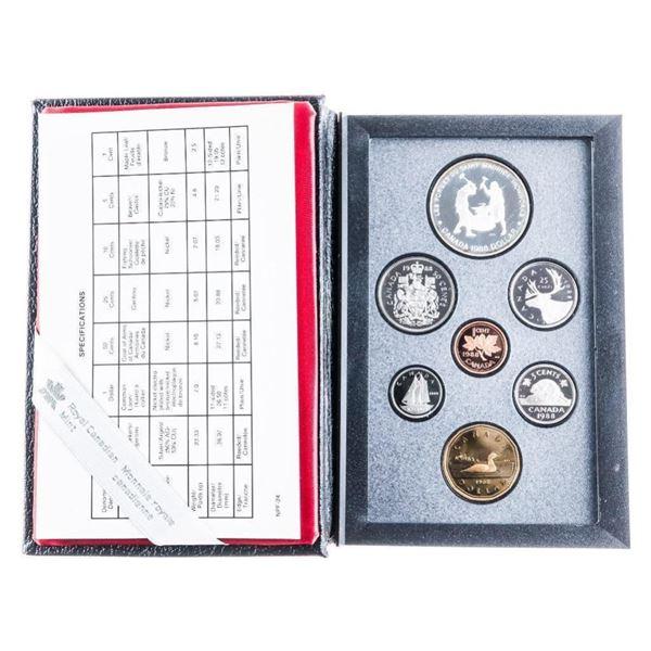 1988 RCM Proof Coin Set