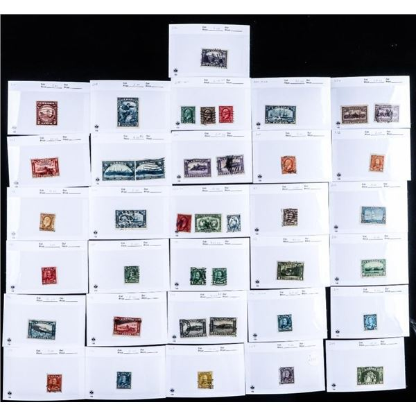Estate Collection of Canada Stamps CAT: $351