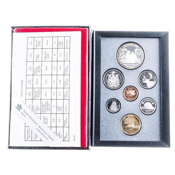 1989 RCM Proof Coin Set