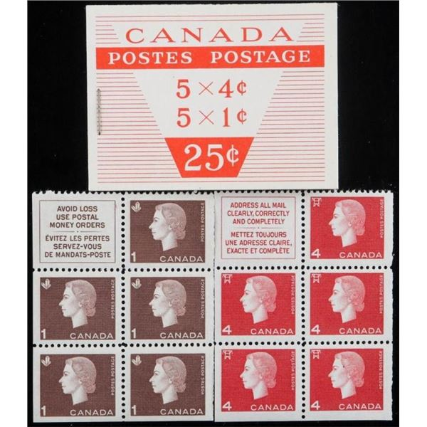 Lot Canada Mint Stamps , Retail Booklet & Blocks