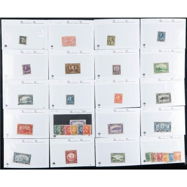 Estate Collection of Vintage Canada Stamps