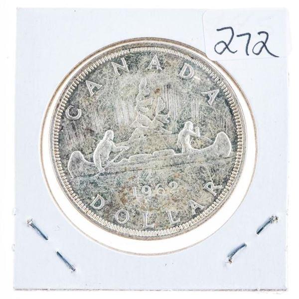 1962 Canada Silver Dollar