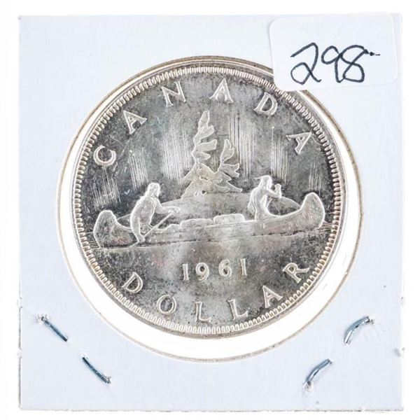 1961 Canada Silver Dollar