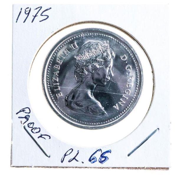 1975 Canada Nickel Dollar Proof PL66